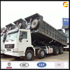 Sinotruk Howo tipper truck 8x4 duump trucks with spare parts