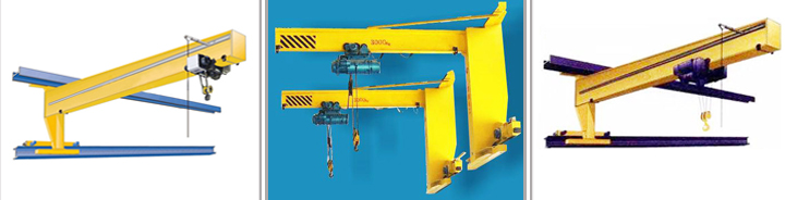 WEIHUA Crane Electric Mini Crane Wall Mounted Traveling Jib Crane 5t for Sale
