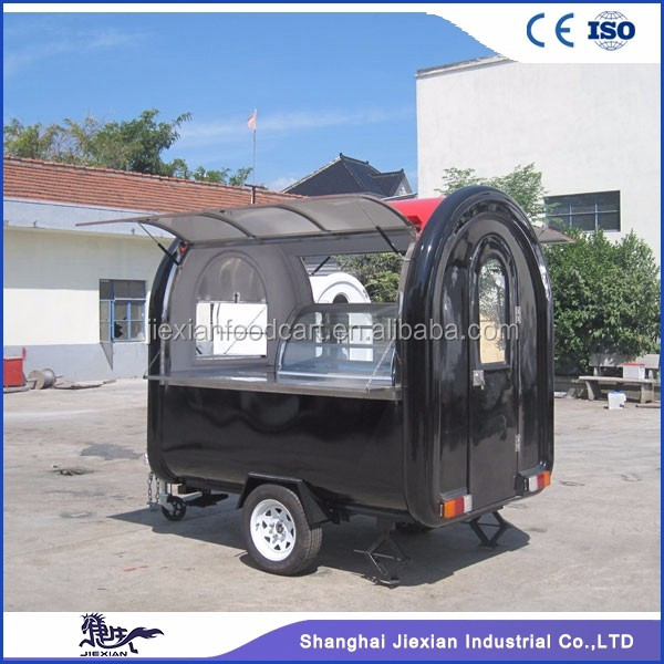JX-FR220B Jiexian CE qualified outdoor mobile trailer fast food for sale