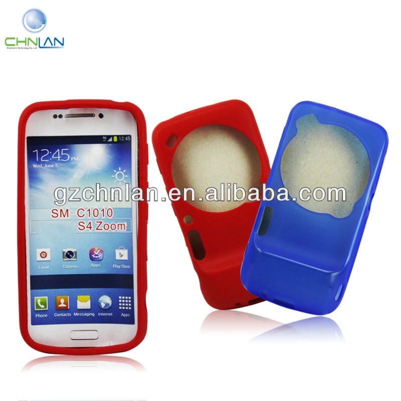 Cell Phone Covers Gel TPU Case For Samsung Galaxy S4 Zoom SM C1010