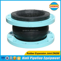 ISO9001 certified flexible pipe rubber expansion joint