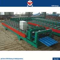for Europe YUFA g1085 glazed tiles roll forming machine