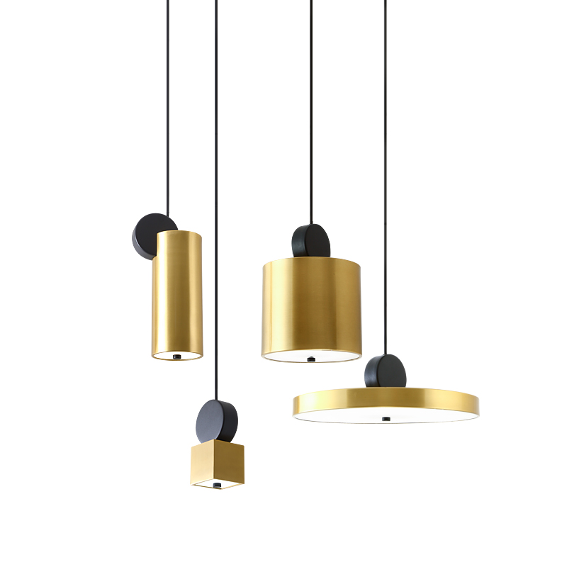 Nordic Modern Industrial Fancy Suspension House Lighting Contemporary Gold Lamps Chandelier Pendant Led Bulb Light