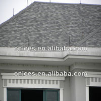 Gray Double layer roofing tile