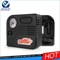 Hot Selling Low Noise Built-in Fan Portable OEM 30L/min car tire air compressor auto tire inflator