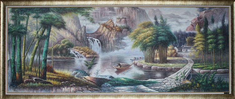 Decorative Beautiful Scenery Oil Painting