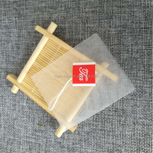 E1001 6.5*8cm High quality Factory supply Nylon triangle tea bags with tag