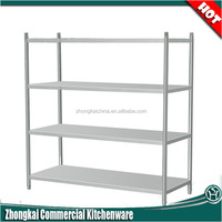 restaurant furniture stainless steel kitchen corner shelf