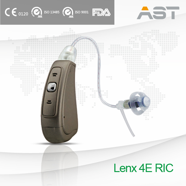 AST Hearing Aid with Receiver in Ear Clear Sound in Noise