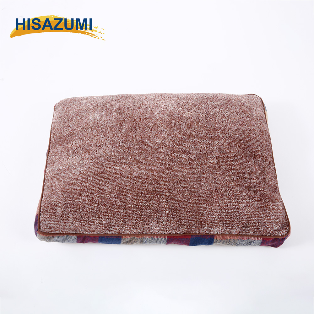 2017 New Design Machine Washable Fleece Classic Cheap Pet Bed For Dog