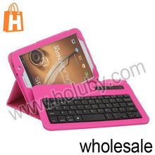 Detachable Flip Leather Bluetooth Keyboard Case for Samsung Galaxy Note 8 Tab 3 iPad Mini