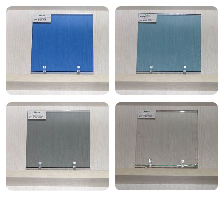 3~12mm Tinted Float Tempered Laminated Building Glass Furniture Glass