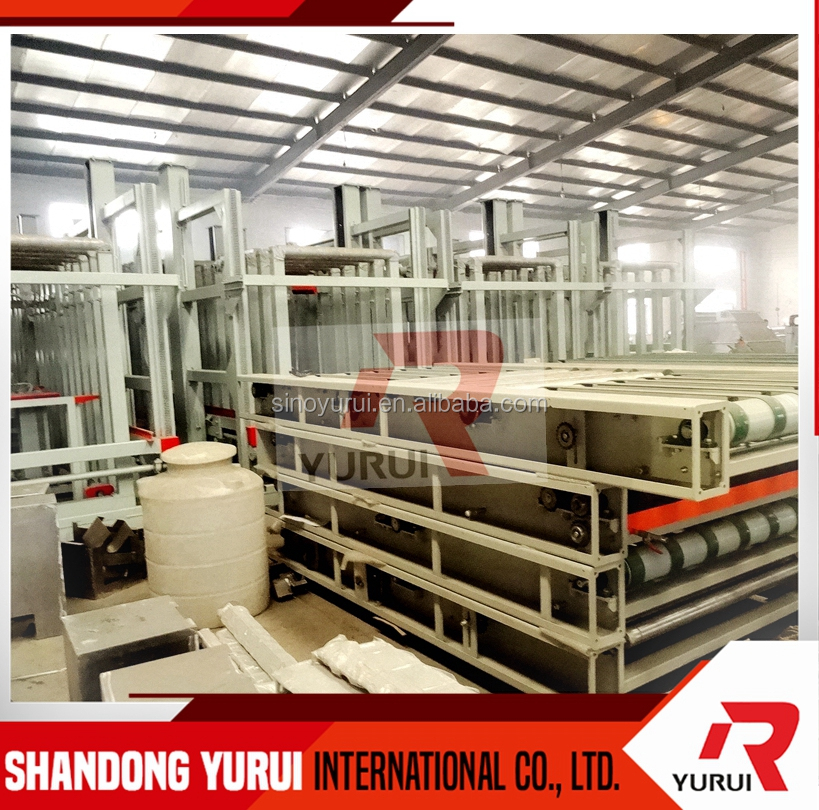 hot demand automatic decorative mgo board machine line/ 500 sheets each day mgo board machine