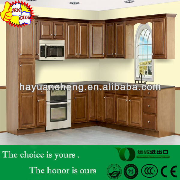 American standard Raised panel door honey maple birch wood china kitchen cabinet manufacturer