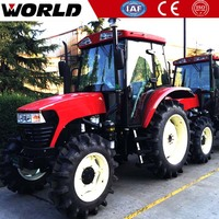 55HP chinese small mini farm tractor traktor 4x4 mini