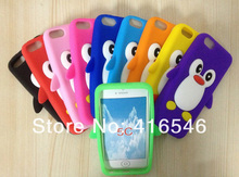 New Cute Penguin Silicone Soft Case Cover Skin for Apple iPhone 5C Back Phone Cover