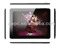 "9.7"" built-in 3G GPS Bluetooth tablet with dual camera 0.3/0.3 quad core MTK 8389 tablet"