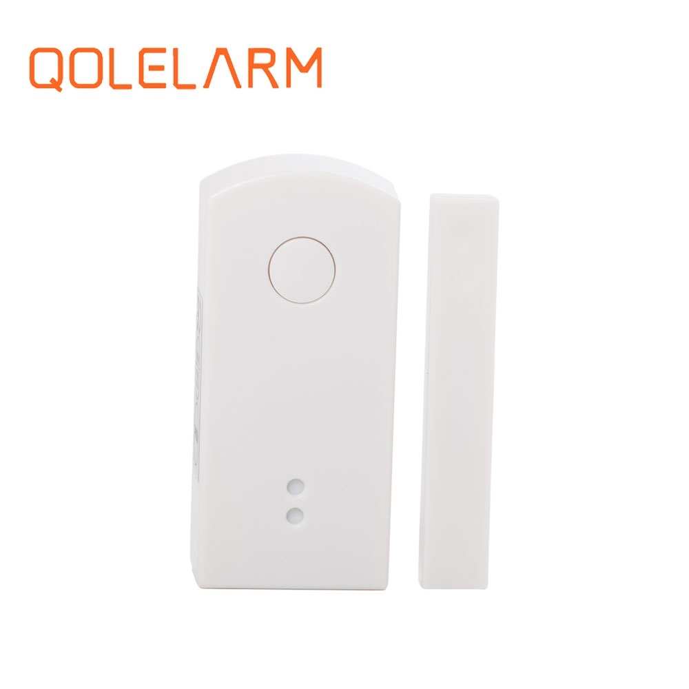433mhz door sensor open close automatic sliding for wireless control alarm system