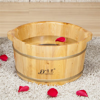 Wooden foot tub adult foot massager/small wash basin/bathrooom basin