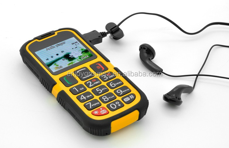W28 quad core fm radio mobile phone with SOS emergent button, bluetooth case