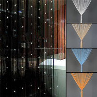China supplier crystal beaded string door curtains wholesale