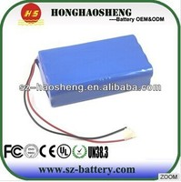 Light weight rechargeable 25.9V 11Ah lithium ion battery electric bike battery pack 7s5p