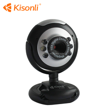 CMOS Free Driver USB 2.0 PC Web camera with 6 led light and snapshot for computer PC laptop