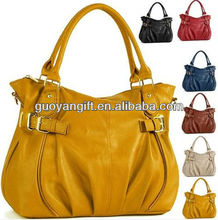 Artificial Leather Shoulder Tote,leather handbag or lady