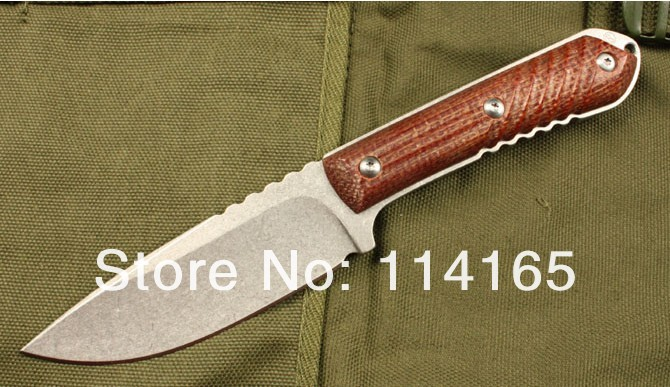 AUS-8A stainless steel blade space board handle OEM high quality bowie knife fixed blade knife tool hand 0238