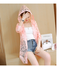 Fashion Elegant Lace Summer Coat South Korean Edition Slim Jacket Protective Clothing For Women