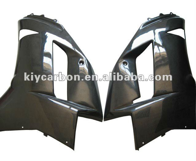 Carbon fiber motorcycle parts for Kawasaki