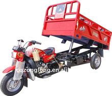 three wheel motorcycle with hydraulic lift system