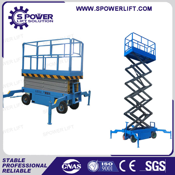 Used man lifting mobile table scissor lift mechanism electric