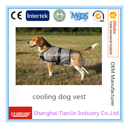 Wholesale popular evaporative cooling dog pet vest