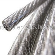 stainless steel wire rope vinyl coated 304 316