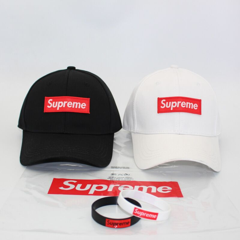 wholesale 6 panel Curved Brim solid white and black supreme baseball hats golf <strong>caps</strong>