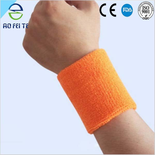 Aofeite Yellow Cotton Ventilated Wrist Protector