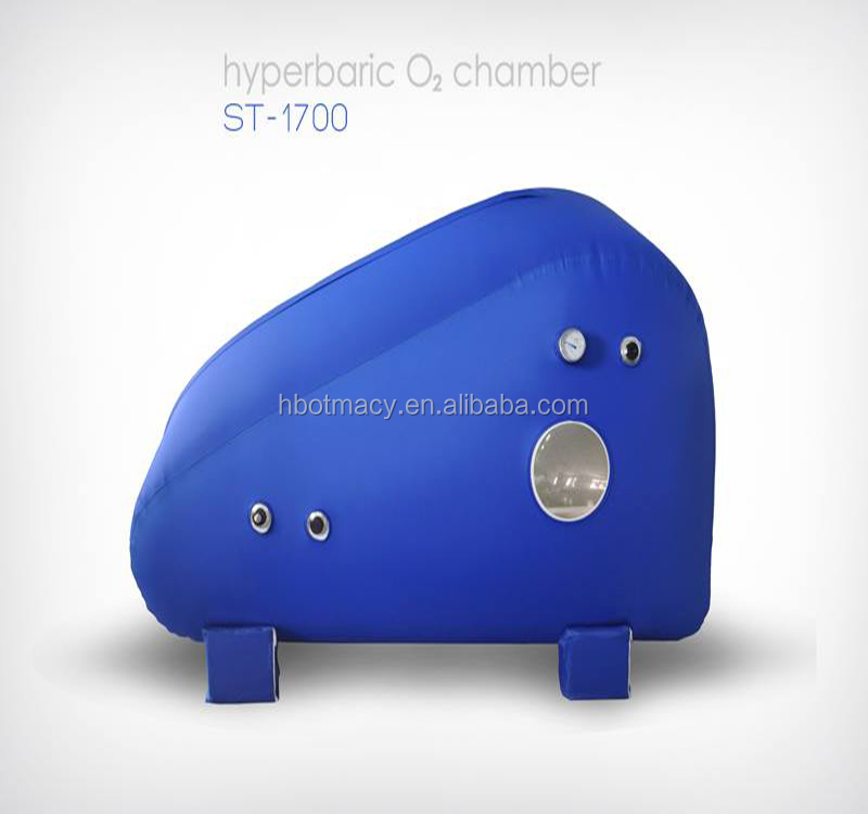 the latest model ST1700 portable hyperbaric oxygen chamber for sitting or semi lying