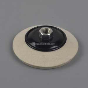 XT-70 Angular wool felt polishing pad