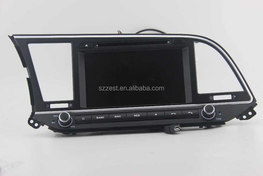 100% android 4.4.4 autoradio gps for Hyundai Elantra 2016 2017 android double din in dash car dvd player with gps
