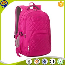 Cheap price custom special discount leisure rose red backpack