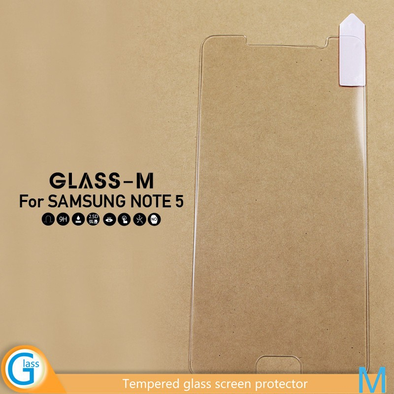 Tempered Glass Cover for Samsung Galaxy Note 5