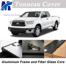 Pick up truck bed cover hard tonneau cover for Toyota Tundra 6 1 2' Short Bed