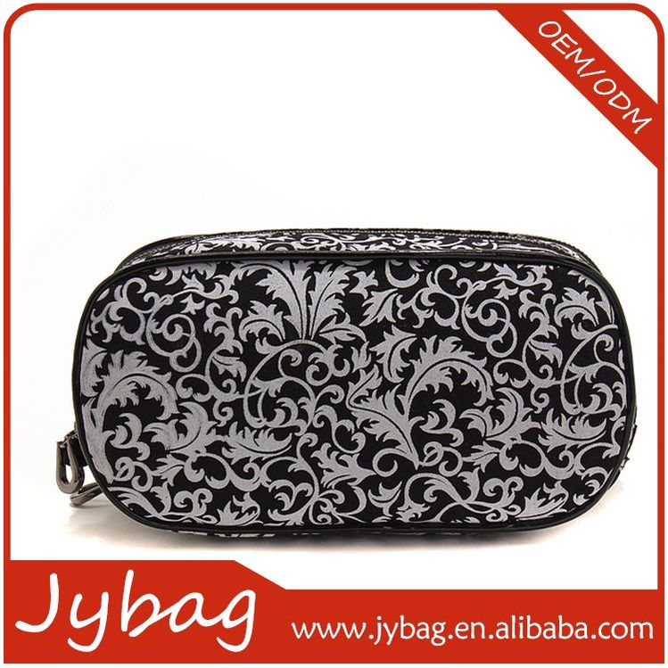 New wholesale trade assurance felt cosmetic bag thread gluing style