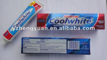Toothpaste supplier OEM toothpaste factory for 19 years