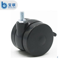 China 4 inch heavy duty locking caster and wheels