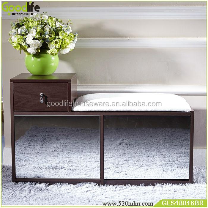 GLS18816wooden shoe cabinet-1