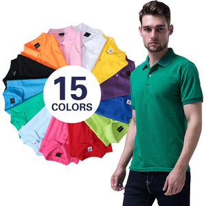 wholesale high quality piqued 100% cotton custom printed logo polo t shirt