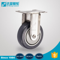 76mm 101mm stainless steel trolley dolly casters with strong load capacity medical wheel
