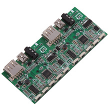 Car oil circuit control board PCBA, PCB assembly